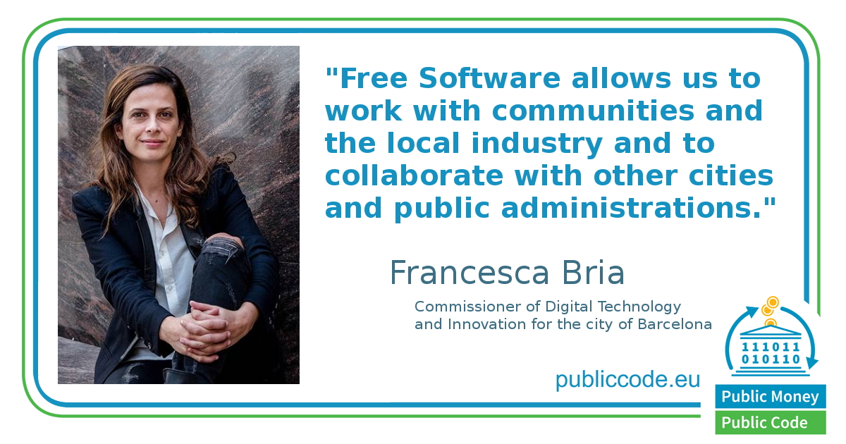Francesca Bria - CTO Barcelona