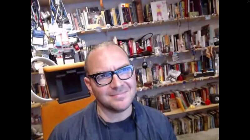 Cory Doctorow at FSFE's Community Event