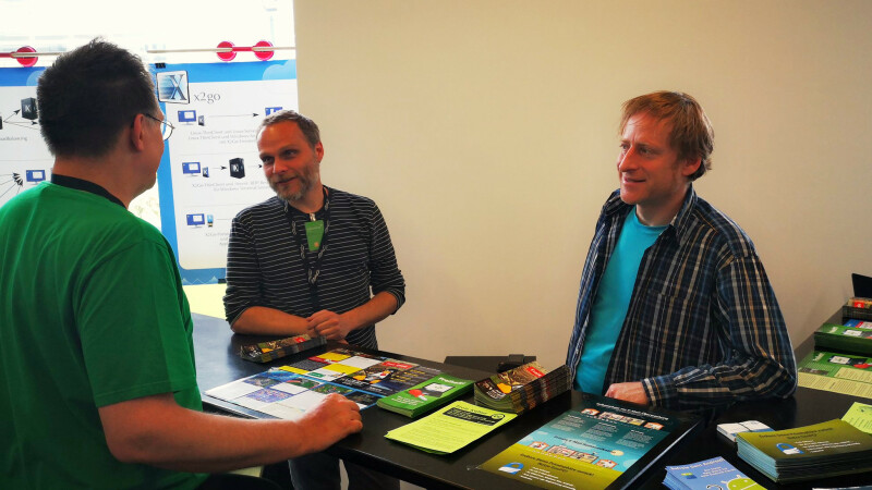 FSFE Booth at Linuxwochen Wien