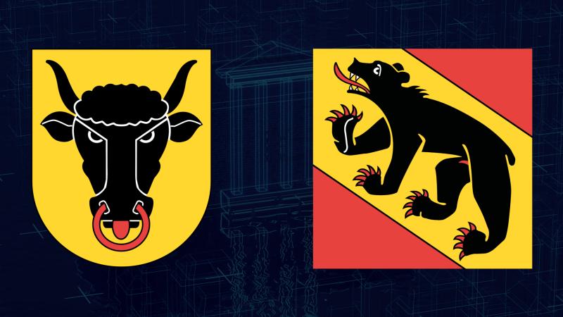 Canton Uri und Bern crest